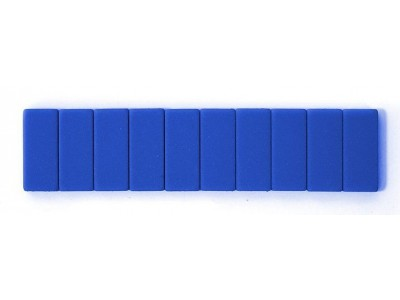 Blackwing Pencil Erasers, Blue, per stick of 10