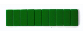 Blackwing Pencil Erasers, Green, per stick of 10