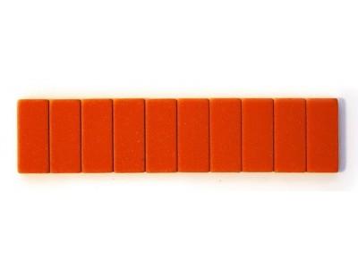 Blackwing Pencil Erasers, Orange, per stick of 10