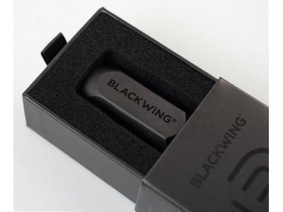 Blackwing One-Step Long Point Pencil Sharpener, Black