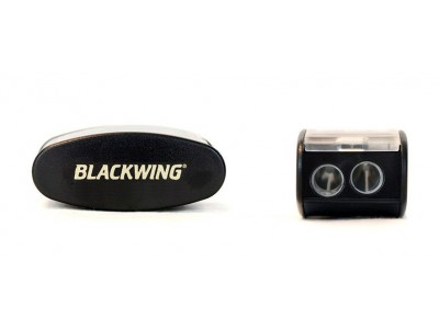Blackwing Long Point Pencil Sharpener, Black