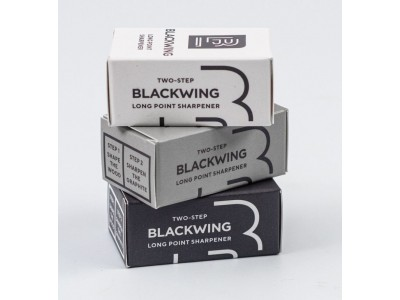 Blackwing Two-Step Long Point Pencil Sharpener, White
