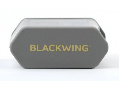 Blackwing Two-Step Long Point Pencil Sharpener, Grey