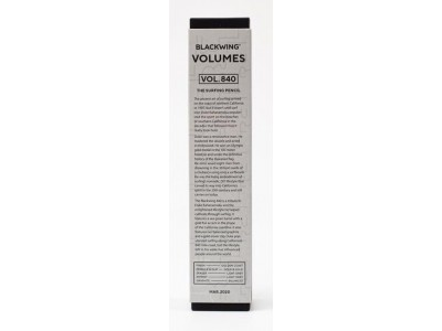 Blackwing Volumes 840 Limited Edition Pencils, per box of 12