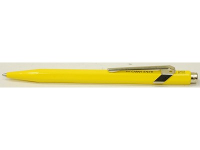 Caran d'Ache 849 Metal Ballpoint, Yellow