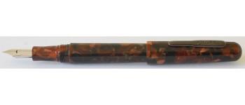 Conklin All American Fountain Pen, Brownstone