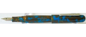 Conklin All American Fountain Pen, Southwest Turquoise