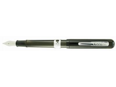 Conklin Heritage Conklinetta Senior Fountain Pen, Mocha Swirl