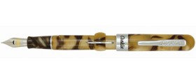 Conklin Mark Twain Crescent Filler Fountain Pen, Peanut Butter