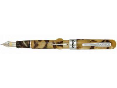 Conklin Mark Twain Crescent Filler Fountain Pen, Peanut Butter