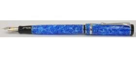 Conklin Duragraph Fountain Pen, Ice Blue