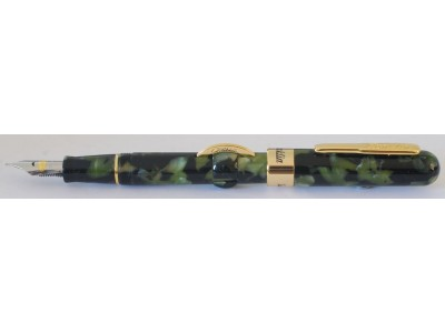 Conklin Mark Twain Crescent Filler, Vintage Green