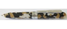 Conklin Minigraph Ballpoint, White Satin