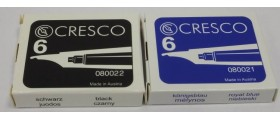 Cresco Ink Cartridges, per pack of 6