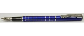 Cresco Master Fountain Pen, Blue