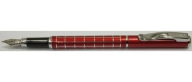 Cresco Master Fountain Pen, Burgundy