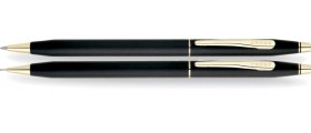 Cross Classic Century Ballpoint and Pencil Set, Classic Black