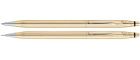 Cross Classic Century Ballpoint and Pencil Set, 18ct. Gold