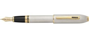 Cross Peerless 125 Fountain Pen, Platinum Plate/Medalist