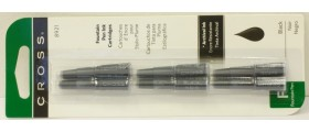 Cross Fountain Pen Ink Cartridges, per pack of 6