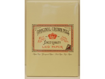Original Crown Mill Classics Laid Paper Pad, Cream, A4 size, 50 sheets
