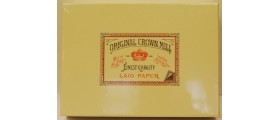 Original Crown Mill Classics Laid Writing Set, Cream, A5 size, 100 sheets and 50 envelopes