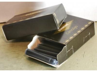Diamine Ink Cartridges, per pack of 18