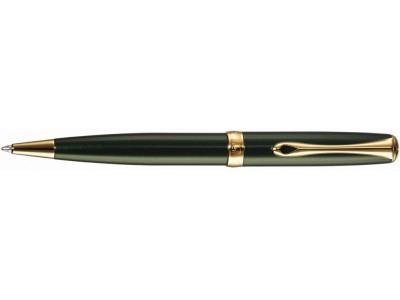 Diplomat A2 Ballpoint, Evergreen Gold