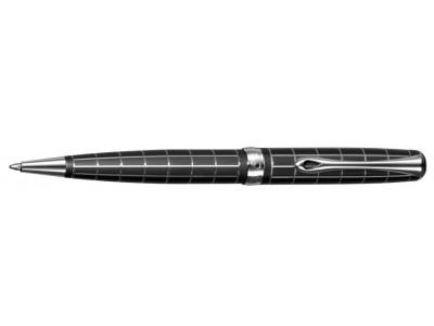 Diplomat A2 Ballpoint, Lapis Black Matte Chrome