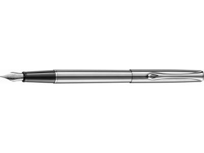 Diplomat Traveller Fountain Pen, Stainless Steel