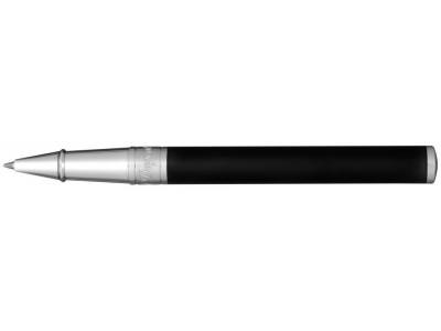 S. T. Dupont D-Initial Rollerball, 262207, Matte Black and Chrome