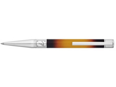 S. T. Dupont Fender Collection New Partnership Ballpoint, 265100 Black and Yellow Sunburst Lacquer