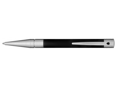 S. T. Dupont D-Initial Ballpoint, 265207, Matte Black and Chrome