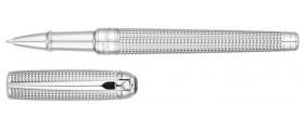 S. T. Dupont Line D Rollerball, 412103M, Medium Goldsmith Palladium