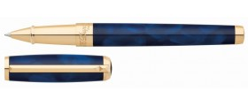 S. T. Dupont Line D Rollerball, 412698, Atelier Large Blue Lacquer