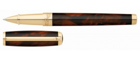 S. T. Dupont Line D Rollerball, 412699, Atelier Large Brown Lacquer