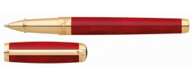S. T. Dupont Line D Rollerball, 412710 Atelier Large Red Lacquer