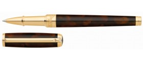 S. T. Dupont Line D Rollerball, 412713 Atelier Medium Brown Lacquer