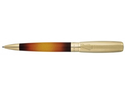 S. T. Dupont Fender Collection Line D Ballpoint, 415720 Black and Yellow Sunburst Lacquer