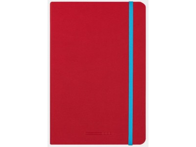 Endless Recorder Notebook, Crimson Sky, Dotted