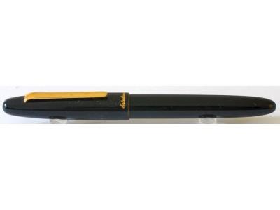 Esterbrook Estie Fountain Pen, Black, Gold Trim