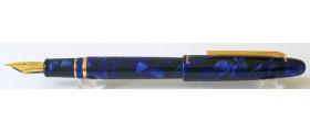 Esterbrook Estie Fountain Pen, Cobalt Blue, Gold Trim