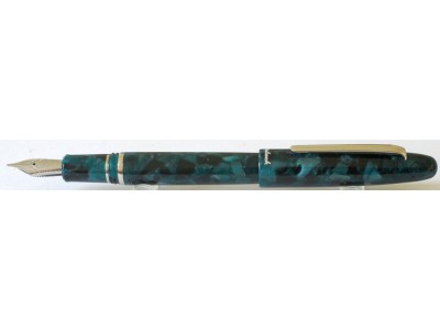 Esterbrook Estie Fountain Pen, Emerald, Palladium Trim