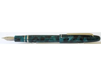 Esterbrook Estie Fountain Pen, Emerald, Palladium Trim