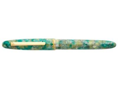 Esterbrook Estie Fountain Pen, Sea Glass, Gold Trim
