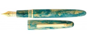 Esterbrook Estie Fountain Pen, Gold Rush Limited Edition, Frontier Green