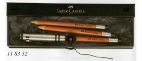 Faber-Castell Design Perfect Pencil Idea Gift Pack, Brown