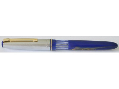Fellowship Black Bird Eyedropper Fountain Pen, Lapis Blue