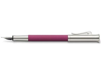 Graf von Faber-Castell Guilloche Fountain Pen, Electric Pink