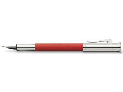 Graf von Faber-Castell Guilloche Fountain Pen, India Red
